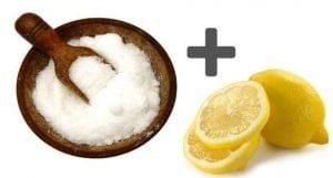 cytryna i soda oczyszczona