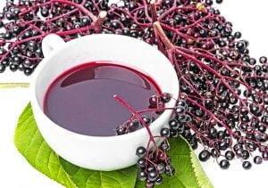 układ odpornościowy, sok z bzu