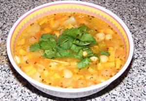 cieciorka - zupa z cieciorki