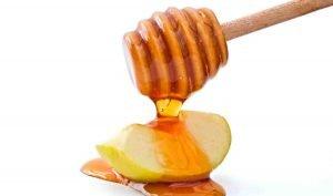 ocet jabłkowy i miód